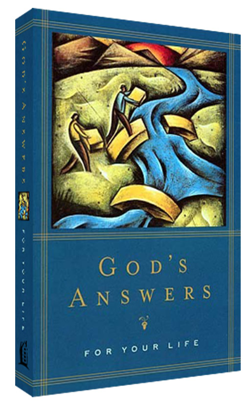 "Picture of ""God's Answers for Your Life"" Scripture Book"